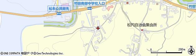大分県竹田市君ケ園657周辺の地図