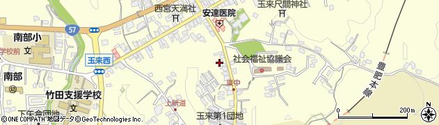 大分県竹田市玉来1253周辺の地図
