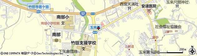 大分県竹田市玉来864周辺の地図
