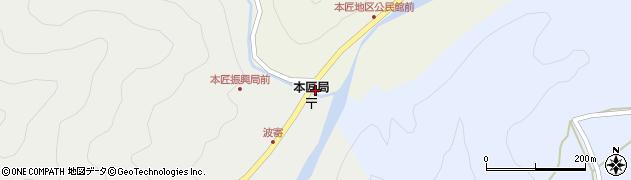 大分県佐伯市本匠大字宇津々1994周辺の地図