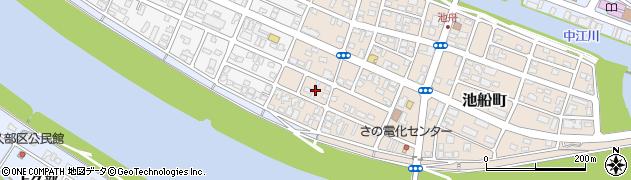 大分県佐伯市池船町38周辺の地図