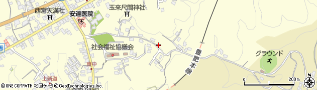 大分県竹田市玉来1372周辺の地図