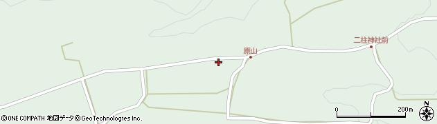 大分県竹田市小塚71周辺の地図