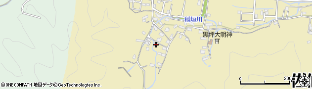 大分県佐伯市稲垣1269周辺の地図