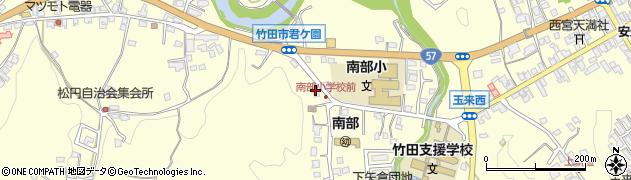大分県竹田市君ケ園1020周辺の地図