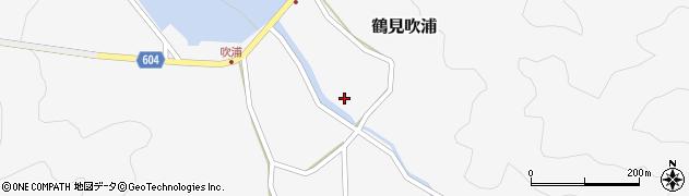 大分県佐伯市鶴見大字吹浦519周辺の地図