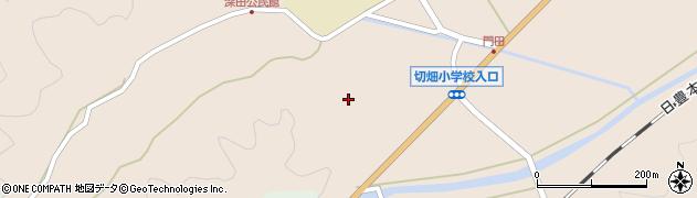大分県佐伯市弥生大字門田1778周辺の地図