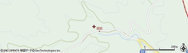 大分県佐伯市本匠大字山部355周辺の地図