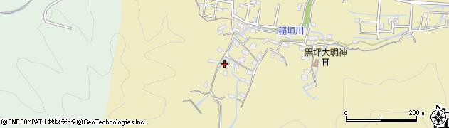 大分県佐伯市稲垣1153周辺の地図