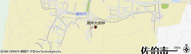 大分県佐伯市稲垣1317周辺の地図