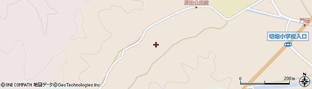 大分県佐伯市弥生大字門田1871周辺の地図