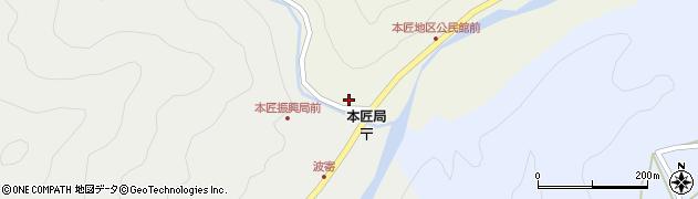 大分県佐伯市本匠大字宇津々1991周辺の地図
