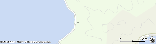 大分県佐伯市鶴見大字有明浦1574周辺の地図