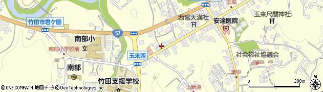 大分県竹田市玉来871周辺の地図