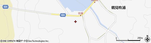大分県佐伯市鶴見大字吹浦164周辺の地図