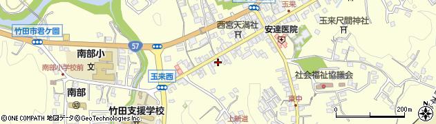 大分県竹田市玉来1023周辺の地図