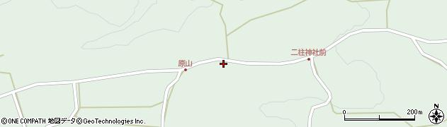 大分県竹田市小塚212周辺の地図
