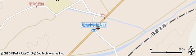 大分県佐伯市弥生大字門田780周辺の地図