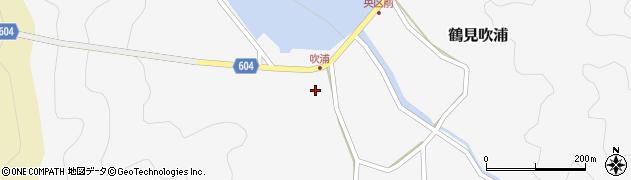 大分県佐伯市鶴見大字吹浦136周辺の地図