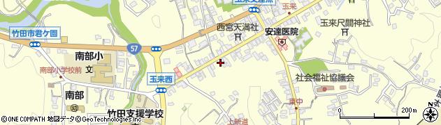 大分県竹田市玉来1022周辺の地図