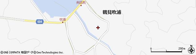 大分県佐伯市鶴見大字吹浦1356周辺の地図