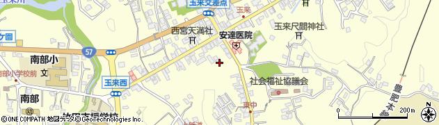 大分県竹田市玉来990周辺の地図