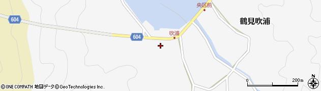大分県佐伯市鶴見大字吹浦130周辺の地図