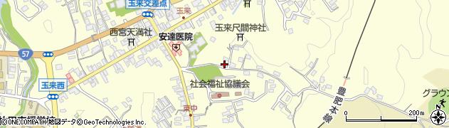 大分県竹田市玉来1335周辺の地図