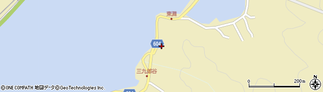 大分県佐伯市9639周辺の地図
