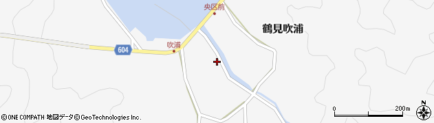 大分県佐伯市鶴見大字吹浦356周辺の地図