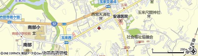 大分県竹田市玉来1005周辺の地図
