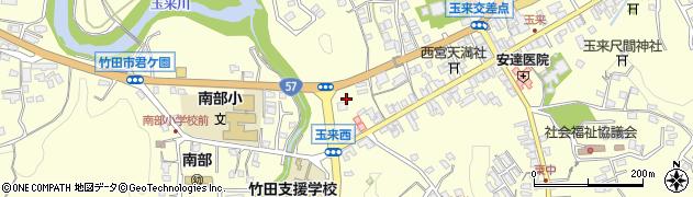 大分県竹田市玉来845周辺の地図