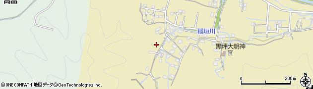 大分県佐伯市稲垣1146周辺の地図
