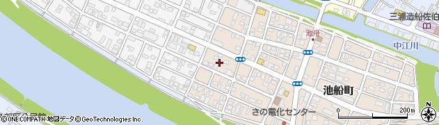 大分県佐伯市池船町37周辺の地図