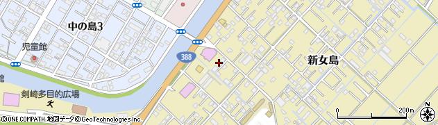 大分県佐伯市6866周辺の地図