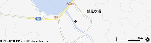 大分県佐伯市鶴見大字吹浦1978周辺の地図