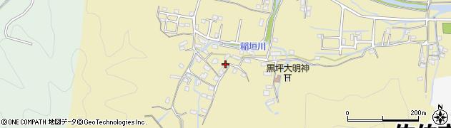 大分県佐伯市稲垣1281周辺の地図