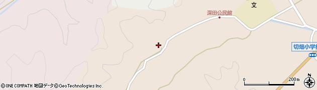 大分県佐伯市弥生大字門田1972周辺の地図