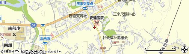 大分県竹田市玉来984周辺の地図