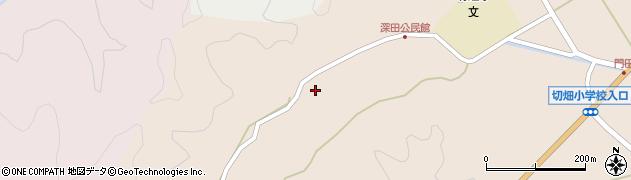 大分県佐伯市弥生大字門田1870周辺の地図