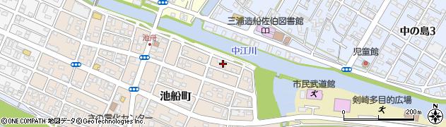 大分県佐伯市池船町9周辺の地図