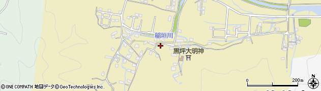 大分県佐伯市稲垣1354周辺の地図