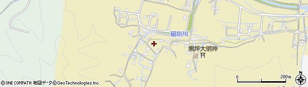 大分県佐伯市稲垣1278周辺の地図