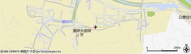 大分県佐伯市稲垣1879周辺の地図