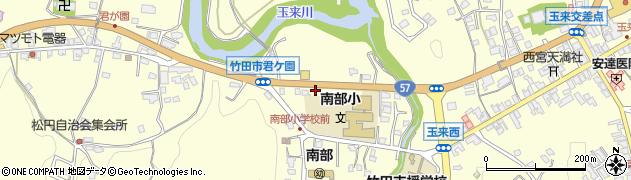 大分県竹田市君ケ園969周辺の地図