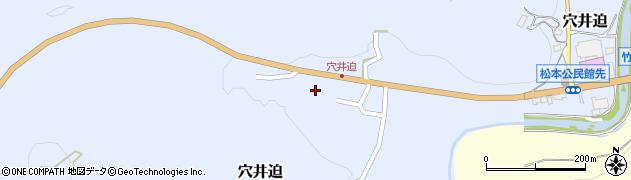 大分県竹田市穴井迫575周辺の地図