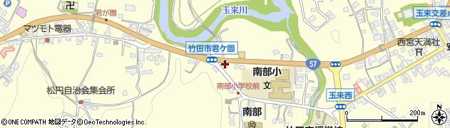 大分県竹田市君ケ園968周辺の地図
