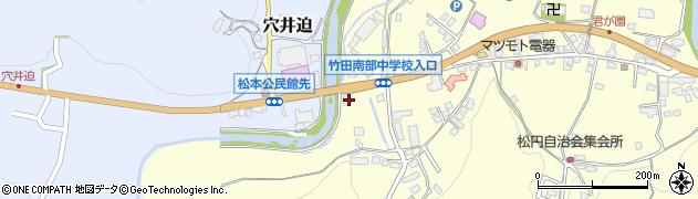 大分県竹田市君ケ園637周辺の地図