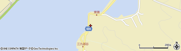 大分県佐伯市9634周辺の地図