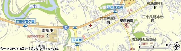 大分県竹田市玉来779周辺の地図